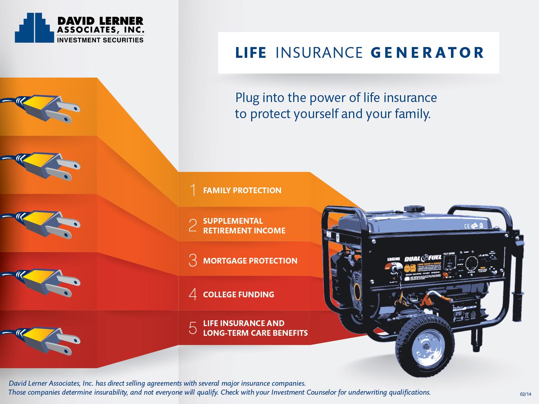 Life Insurance Generator Infographic 10x7.5