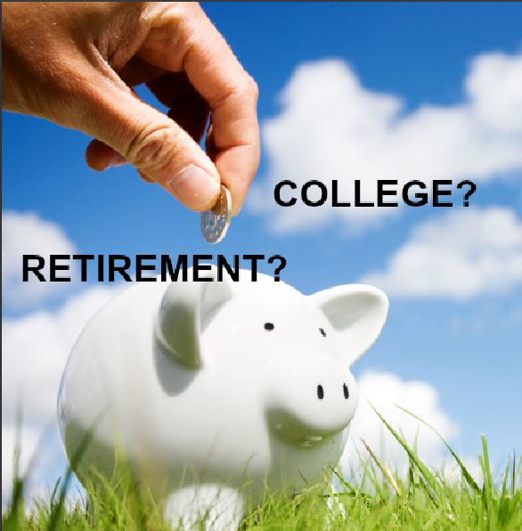 Saving retirement college